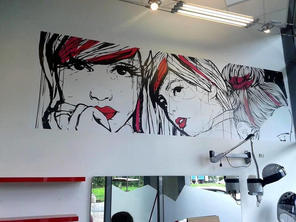 Stickers murali